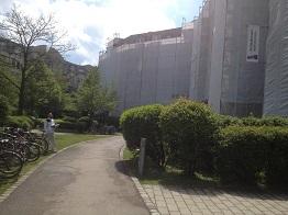 Ansicht der Baustelle während unserer Arbeiten