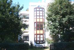 Holzfenster und Erker Lasuranstrich